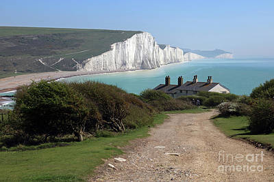 Photograph - Seven Sisters East Sussex by Julia Gavin