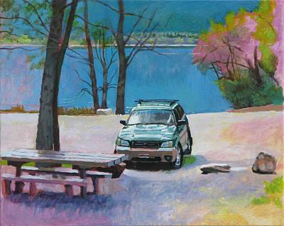 Seven Sisters Art Print by Robert Bissett