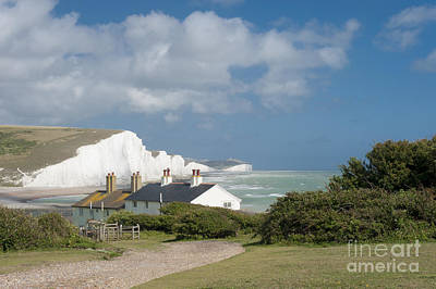 Seven Sisters Sussex Art Print by Donald Davis