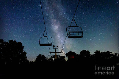Photograph - Seven Springs Milky Way by Brenda Schwartz