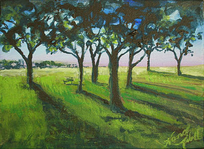 Painting - Seven Trees by Michele Hollister - for Nancy Asbell