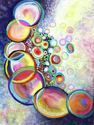 Painting - Seven Truths by Polly Castor