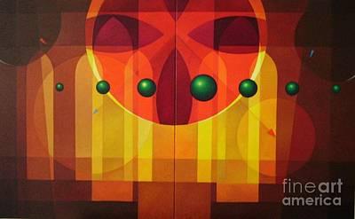 Seven Windows - 2 Art Print by Alberto DAssumpcao