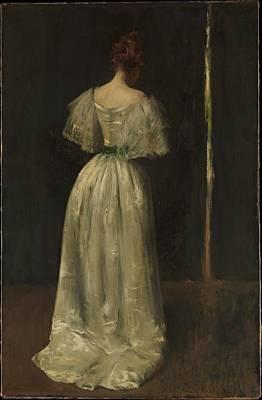 Seventeenth Century Lady Original by William Merritt Chase