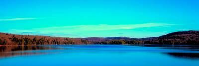 Seventh Lake Panorama Art Print by David Patterson