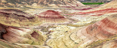 Photograph - Painted Hills Of Oregon by Pierre Leclerc Photography
