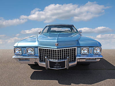 Photograph - Seventies Superstar - '71 Cadillac by Gill Billington