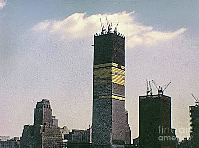 Photograph - seventies Twin Towers by Benny Marty