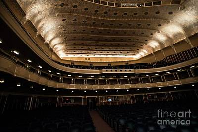 Photograph - Severance Hall - 2 by David Bearden