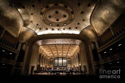 Photograph - Severance Hall by David Bearden