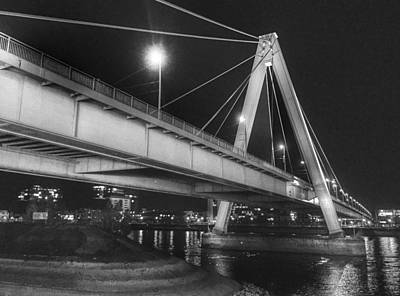 Photograph - Severin Bridge In Cologne by Dirk Jung