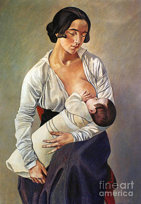 Gino Photograph - Severini: Maternity, 1916 by Granger