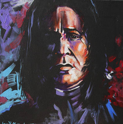 Harry Potter Painting - Severus by Jean Alexander