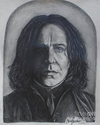 Drawing - Severus Snape by Christine Jepsen