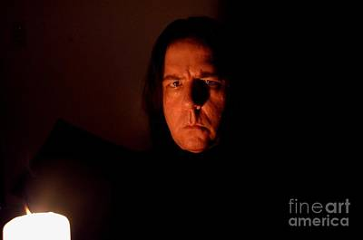 Photograph - Severus Snape Self Portrait by Christopher Shellhammer