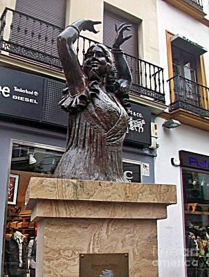 Photograph - Sevilla-92 by Rezzan Erguvan-Onal