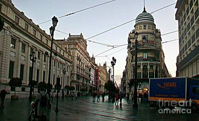 Photograph - Sevilla-98 by Rezzan Erguvan-Onal
