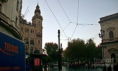 Photograph - Sevilla-99 by Rezzan Erguvan-Onal