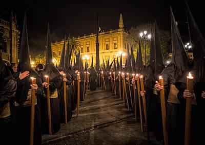 Religious Photograph - Sevilla Santa by Fegari