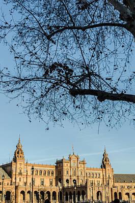 Nirvana - Seville - A view of Plaza de Espana by AM FineArtPrints