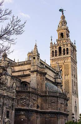 Seville A View Of The Giralda Art Print