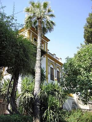 Photograph - Seville Architectural Garden Villa Spain by John Shiron