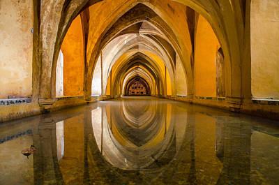 History Photograph - Seville - Baths Of Dona Maria by Andrea Mazzocchetti