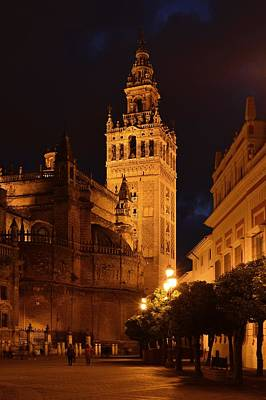 Photograph - Seville Cathedral by Marek Stepan