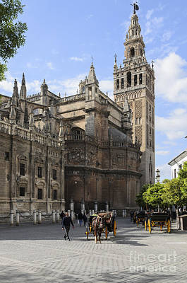 Photograph - Seville Cathedral by Michael  Winters