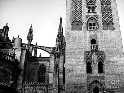 Photograph - Seville Cathedral Windows by John Rizzuto