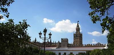 Photograph - Seville Cathedral Xiv Giralda Tower Spain by John Shiron