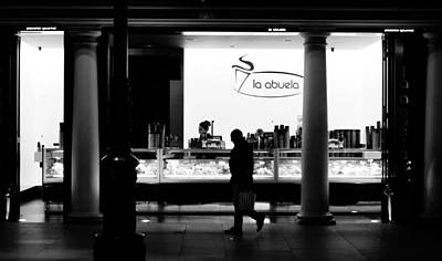 Lights And Shadows Photograph - Seville In Motion Bw by Andrea Mazzocchetti