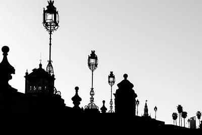 Photograph - Seville In Silhouette by Andrea Mazzocchetti