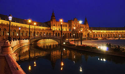Painting - Seville, Magical Lights by Andrea Mazzocchetti