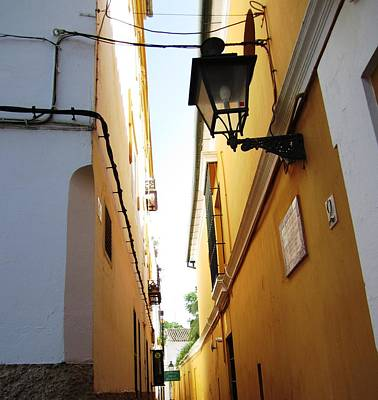 Photograph - Seville Narrow Streets II Spain by John Shiron