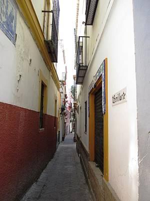 Photograph - Seville Narrow Streets IIi Spain by John Shiron