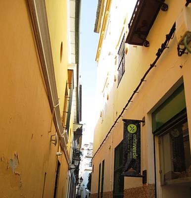 Photograph - Seville Narrow Streets Spain by John Shiron