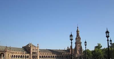 Photograph - Seville Plaza De Espana Spain by John Shiron