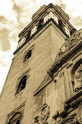 Andalucia Photograph - Seville - San Pedro Bell Tower by Andrea Mazzocchetti