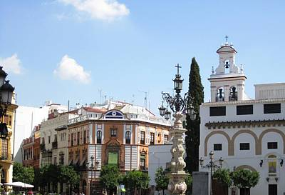 Photograph - Seville Santa Cruz Quarter Spain by John Shiron