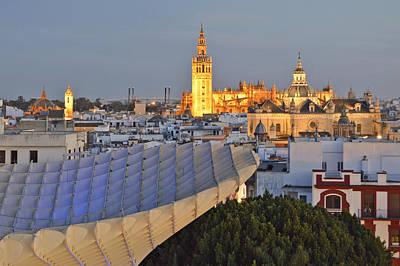 Photograph - Seville Spain At Dusk by Marek Stepan