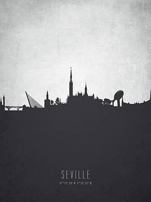 Seville Spain Cityscape 19 Art Print