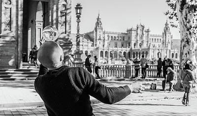 Kim Fearheiley Photography - Seville Streets BW by Victor Hugo