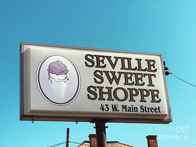 Photograph - Seville Sweet Shoppe by Michael Krek