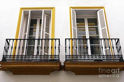 Photograph - Seville Symmetry by John Rizzuto