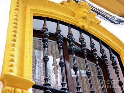Photograph - Seville Window Style by John Rizzuto