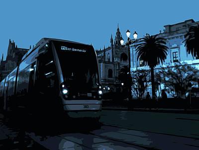 Painting - Sevillean Night by Andrea Mazzocchetti