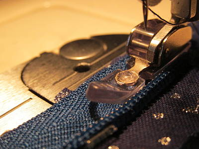 Machine Quilting Photograph - Sew On by Julia Olson