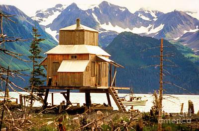 Seward Alaska House Of Stilts Art Print by James BO  Insogna
