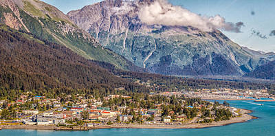 Photograph - Seward Alaska by Michael Rogers
